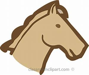Horse head clip art clipartfest - Clipartix
