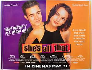 She's All That - Original Cinema Movie Poster From ...
