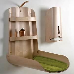 Table A Langer Design : comment choisir sa table langer jolie et pratique ~ Teatrodelosmanantiales.com Idées de Décoration