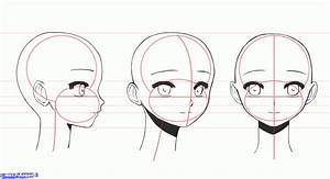 Face Girl Drawing Step By Step - Drawing Of Sketch