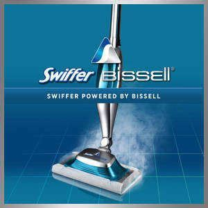 Swiffer SteamBoost powered by BISSELL