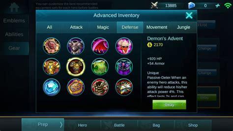 Mobile Legends Defense Items Guide