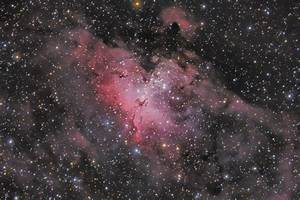Astronomers Do It In The Dark - M16 - The Eagle Nebula in ...