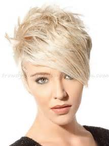 Short Hairstyles With Long Bangs Short Hairstyle With