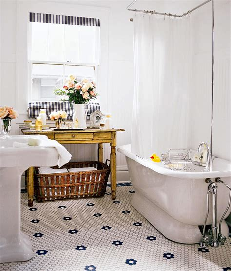 Vintage Retro Bathroom Decor by Vintage Bath Ideas