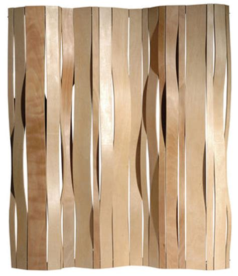 Living Room Divider by Scopri Paravento Swell Pioppo Naturale Di Vange Made In