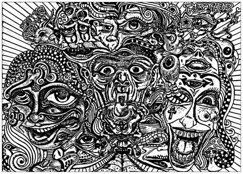 Adult Coloring Pages Psychedelic Gallery