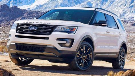 2019 Ford Explorer  Review, Design, Engine, Changes