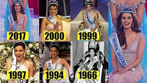 6 Beautiful Ladies From India Who Won Miss World Crown