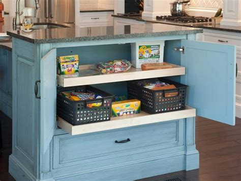 6 creative storage solutions for your kitchen barb kitchen island cabinets pictures ideas from hgtv hgtv