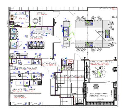 plan d une cuisine de restaurant plan cuisine professionnelle maison design bahbe com