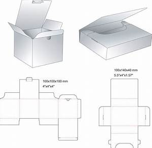 Template Packaging Box
