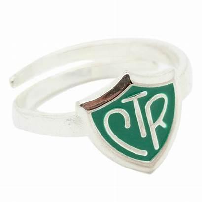 Ctr Ring Lds Shield