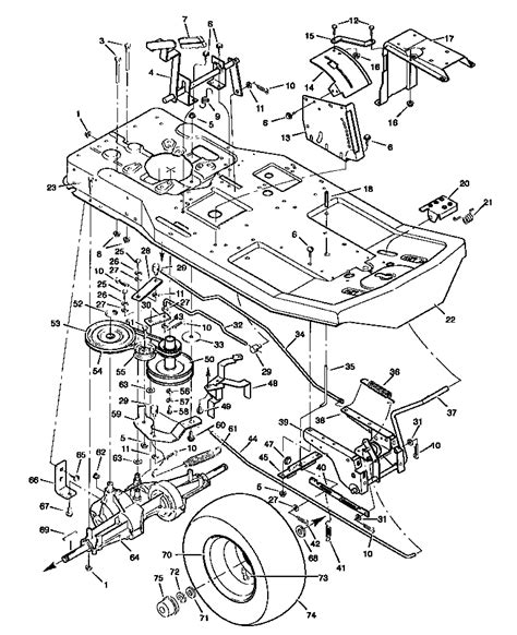 craftsman lt1000 drive belt diagram craftsman mower deck belt diagram images