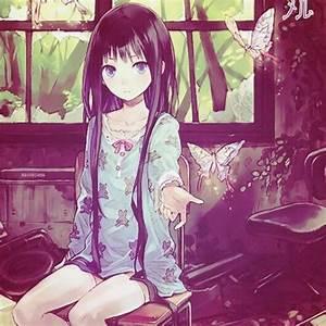 Manga cute, Kawaii and Butterflies on Pinterest