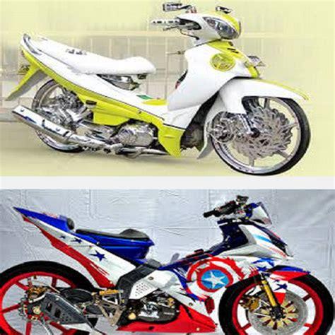 Modifikasi Jupiter Z 2008 Warna Biru by 10 Gambar Modifikasi Jupiter Z1 Racing Ala Thailook Velg