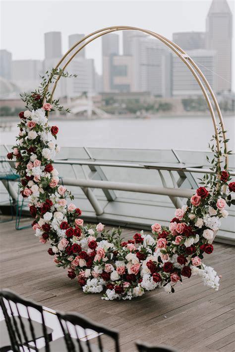 inspirational wedding ceremony arbor arch ideas