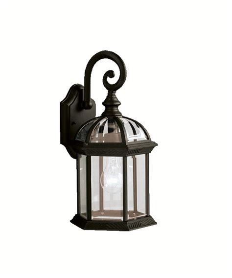 kichler new series 08 outdoor 1 light outdoor wall