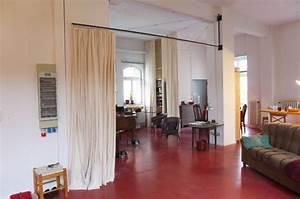 Raumteiler Bauen Schnell Fertig : vorhang als raumteiler k hn design metall ~ Michelbontemps.com Haus und Dekorationen