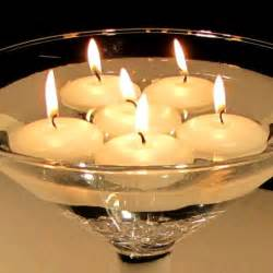 candles wedding floating candle centerpiece