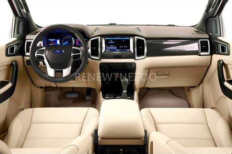 Download 2020 Ford Bronco White Interior  PNG