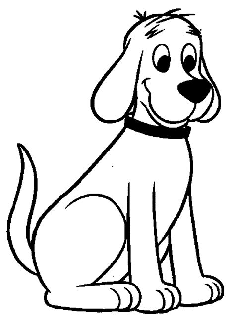 clifford  big red dog coloring pages wecoloringpage