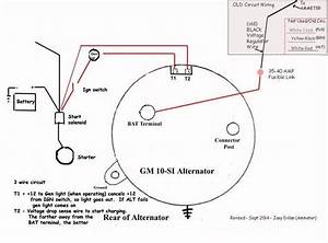 1985 Chevy Alternator Wiring Diagram