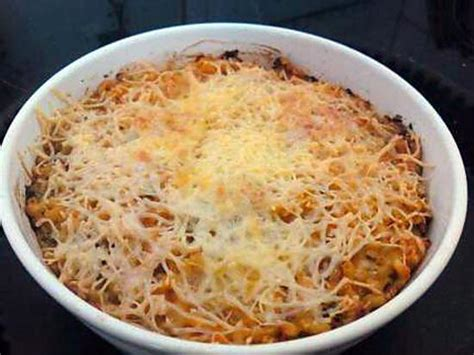 recette de pate au tomate recette de p 226 te au thon gratin 233 es 224 la tomate