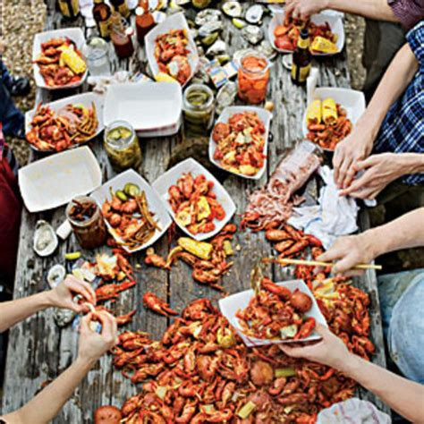 crawfish boil with a texas twist southern living