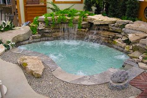 inground spa hot tubs and spas on pinterest