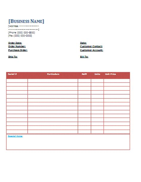 Packing Slip Template Docs by Packing Slip Template Sle Doc Or Pdf Format V M
