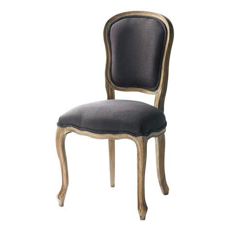 chaises grise chaise en et orme massif taupe grisé versailles