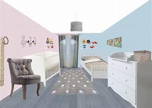 Décoration Chambre De Bébé : chambre bebe dessin ides ~ Teatrodelosmanantiales.com Idées de Décoration
