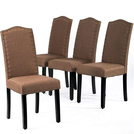 dining chairs armless kitchen room chair accent solid wood