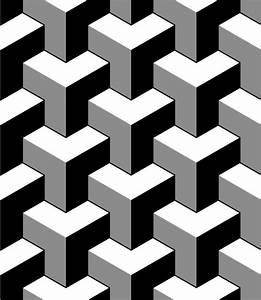 Tapete Geometrische Muster : tapete abstrakte 3d w rfel geometrische nahtlose muster in schwarz und wei vektor pixers ~ Frokenaadalensverden.com Haus und Dekorationen
