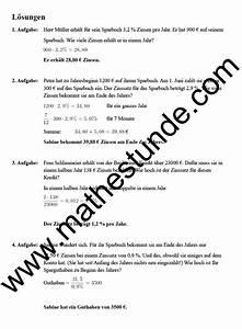Scheitelpunkt Berechnen Aufgaben Mit Lösungen : zinsrechnung textaufgaben mit l sungen aufgaben zinsrechnung ~ Themetempest.com Abrechnung