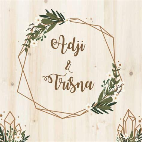 ide background undangan pernikahan rustic png life