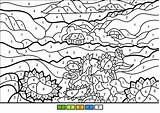 Coloring Sunflowers Printable Sheets Numbers Paint Colouring Castle Bouncy Bangor Categories sketch template
