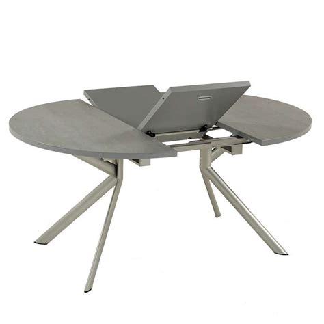table ronde extensible en c 233 ramique giove 4 pieds tables chaises et tabourets