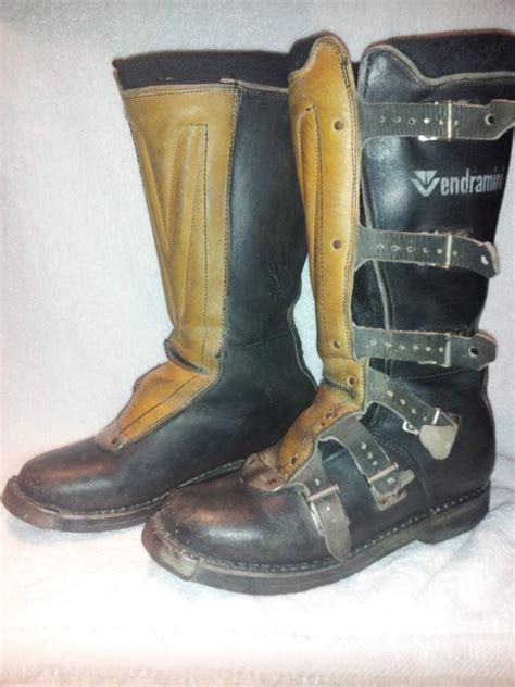 vintage motocross boots purchase vintage rare vendramini motocross boots italy