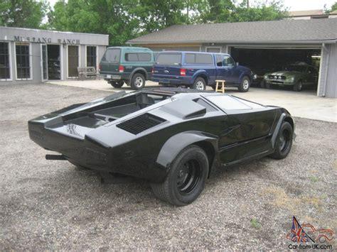Fiero Kit by 1986 Lamborghini Pontiac Fiero Kit Car V 6 5 Speed