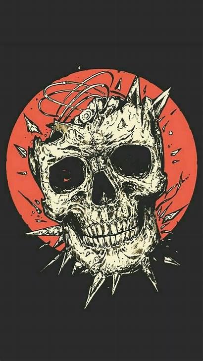 Skeleton Skull Wallpapers Iphone Backgrounds Bones Wallpaperboat