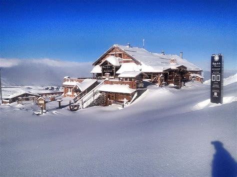 chalet de la marine val thorens snow in the alps nov 12 2013 val thorens nov 12 2013 onthesnow