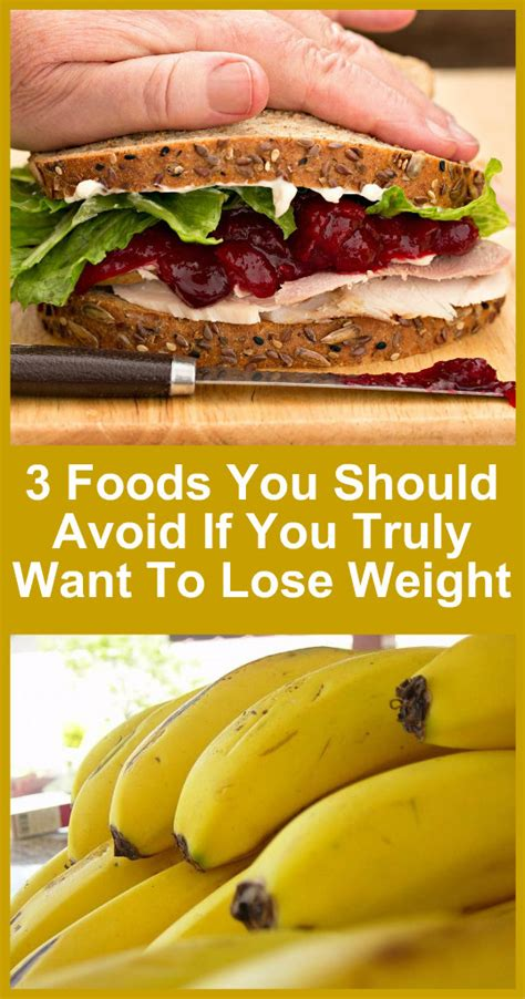 foods   avoid      lose weight