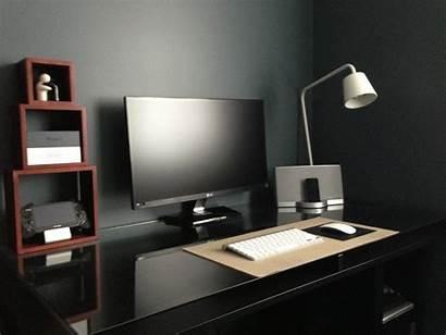 Desk Setup Minimalist Clean Setups Pc Office