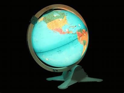 Globe Gifs Travel Animated Experience Whimsical Myniceprofile
