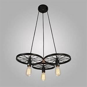 Unconventional handmade industrial lighting designs you