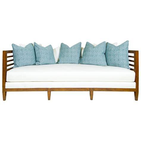 bahama home club exposed wood st lucia sofa
