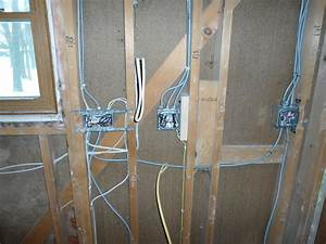 Rough Electric  Rough Plumbing  And Drywall