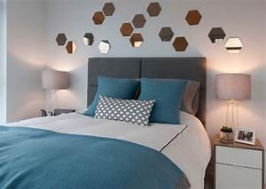 Grau Blaue Wand : wandfarbe grau im schlafzimmer 77 gestaltungsideen ~ Watch28wear.com Haus und Dekorationen